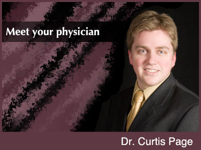 Dr. Curtis Page